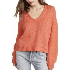 Madewell Sweater Balloon-Sleeve Pullover Top NWT